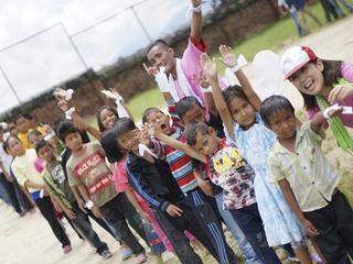 ネパールの孤児院の子どもたちに運動会で希望と笑顔を届けよう!
