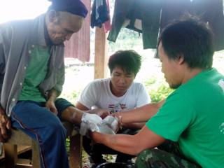 ミャンマー地雷被害者に初めての義足を。新しい一歩を共に!
