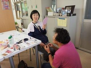 高齢者や障害者をキレイに!岡山メイクボランティアの法人化へ!