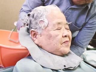高齢者や介護を受けている方に優しい洗髪方法のDVDを作りたい