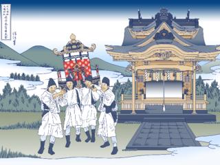 日本の紙の神様。1300年大祭記念に浮世絵木版画を製作したい