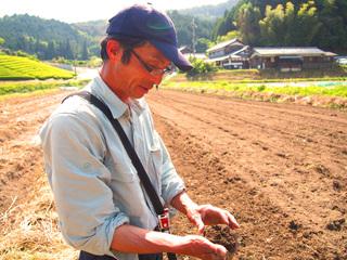 滋賀の有機農家の「想い」を伝えるWEBページを開設したい