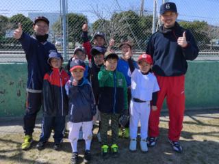 福岡県苅田町に「100%フルスイング」できる少年野球チームを!