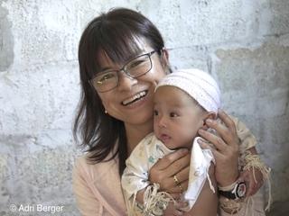 ラオスの障がいがある子供たちをキラキラの笑顔にしたい!