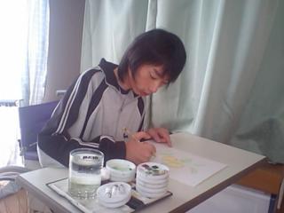 初の東京個展!筋力が低下するまで描き続けた水彩画で人々に癒しを