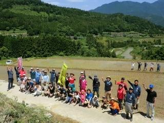 【第2弾】高知県本山町で田んぼアートを実施し棚田の存続へ!