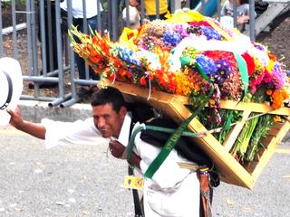 修好110周年!コロンビア最大の花祭りを日本の和紙で再現したい