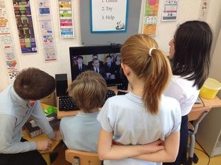 世界とつながり理解を深めるためにクロームブックスを児童に!