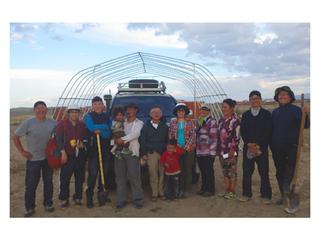 モンゴルで住民と共に取り組む、持続可能な砂漠化防止システム