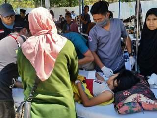 【インドネシア地震】ロンボク島での緊急支援活動にご支援を