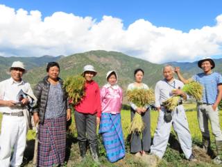 """""""ブータン王国""""有機農業100%の国造りを実現するために!"""