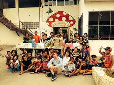 大型浄水装置でタイの孤児養護施設の子供たちにきれいな水を