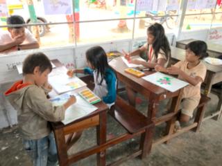 カンボジアの親を失った子供達が暮らす孤児院にきれいな教室を!