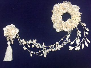 川俣シルクを使ったウエディングアクセサリーを全国の花嫁さまへ