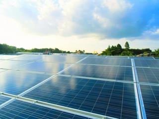 太陽光発電所で明るい未来を!