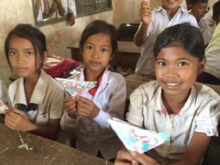 絵本でカンボジアに教育を with丸高生