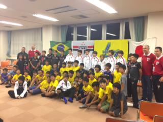 ブラジル・サンパウロFCの子どもたちとの交流を再び!