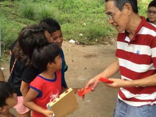 26年目のお願い。フィリピンの子ども達へ食事や履き物を届けたい