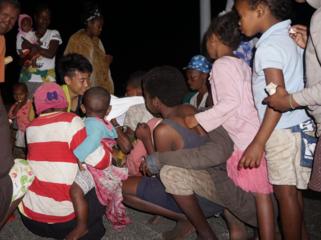 マダガスカルの家無き人たちに、衣服を届けたい。