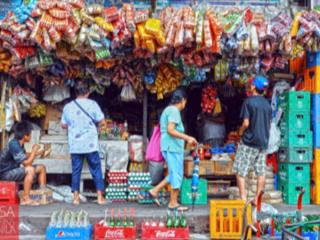 フィリピンの小さな町に元気を!