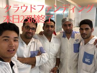 イランのチーズを日本でも。大学2回生の大きな挑戦!