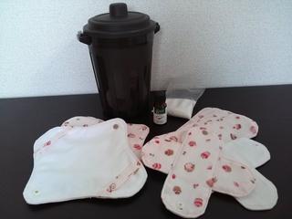 女性の体に優しい布ナプキンをより多くの女性のもとに届けたい!