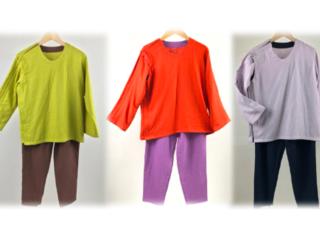 障がい者と高齢者の日常に快適を。機能性と色彩を備えた服を製作