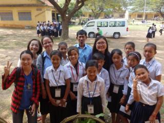 今年もカンボジアの学生を日本に招待し、交流したい!!