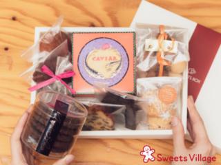 月1回のお楽しみ!町のお菓子さんの厳選スイーツが届く定期便Box
