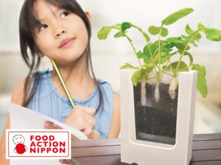 観察体験+食育+農業支援「土の中が見える畑」を届けたい!