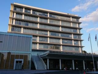 4月2日 世界自閉症啓発デーに飯塚市役所を青く染めたい!!