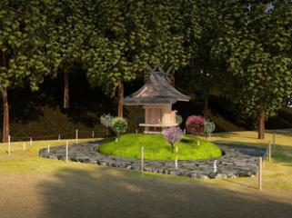 葛木御歳神社に祖霊社を作りたい!
