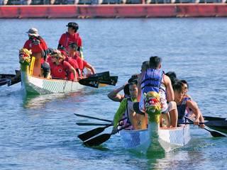 ドラゴンボートで静岡県宇佐美漁港に再び活気を取り戻したい!