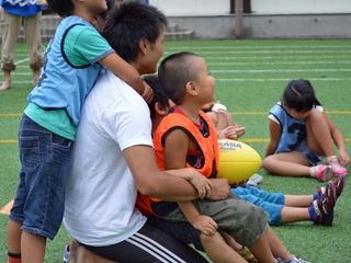 日本中の子どもたちにラグビー遊びを!全国キャラバン開催!