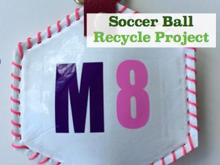捨てられてしまうパンクボールを再利用してオリジナルチャームを作製!