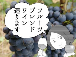 地域フルーツ産業の衰退を打開!フルーツブレンドワインへの挑戦