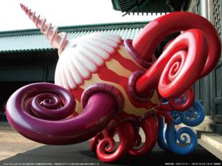 九大椎木講堂に世界的アーティスト河口洋一郎氏作品を展示したい