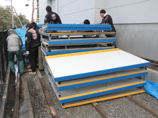 富士山麓のスケートリンクを復活を目指した調査測量を行います!