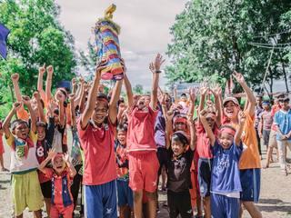 運動会を通してカンボジアに「幸せ溢れる時空間」を届けたい!
