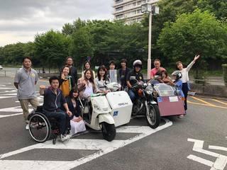 誰もが自由に移動できる社会を実現する車椅子のバイクを広めたい