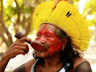 アマゾンからカヤポ族長老ラオーニと青年男性を日本に呼びたい!