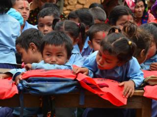 ネパールの子どもたちが安心して通える学び舎を再建したい
