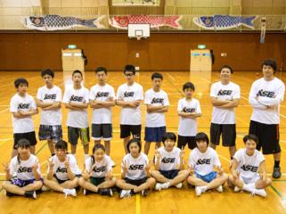 地域でバスケを頑張る子どもたちが、挑戦し続けられる環境を