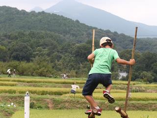 茨城県八郷地区で日本の伝統風景を生かしたアートイベントを開きたい!