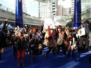 フラッシュモブを実行して名古屋の街を笑顔にしたい!