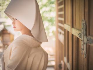 「人生のあらゆる節目に有松天満社を」ひらかれた神社への道