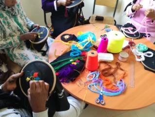 「モロッコの刺繍トートバッグ」でもっと女性職人に活躍の機会を