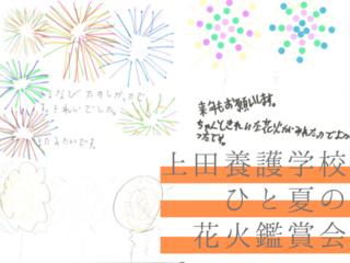 長野県上田養護学校での花火鑑賞会!子供たちをもっと笑顔に