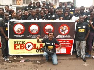 エボラ出血熱啓発活動を行なうための支援物資を現地に送りたい!