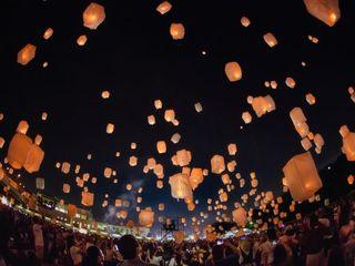 夜空に2030個の灯火を!鳥取県スカイランタンプロジェクト
